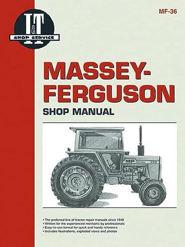 9780872881365: Massey Ferguson Shop Manual Model MF285 (Manual Mf-36)