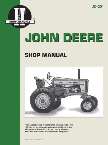 John Deere Shop Manual Jd-201 (I & T Shop Service): Penton