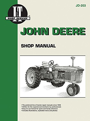 John Deere Shop Manual JD-203: Haynes Manuals Inc