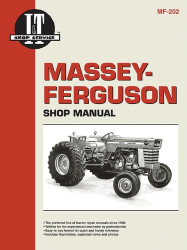9780872883628: Massey Ferguson Shop Manual Models MF29 MF37 MF38 & MF39