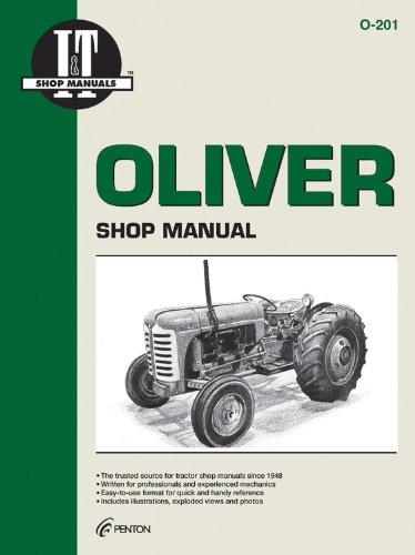 9780872883635: Oliver Shop Manual 0-201 (I & T Shop Service)