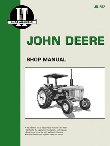 9780872883666: John Deere Shop Manual Jd-202 Models: 2510, 2520, 2040, 2240, 2440, 2640, 2840, 4040, 4240, 4440, 4640, 4840 (I&T Shop Service)