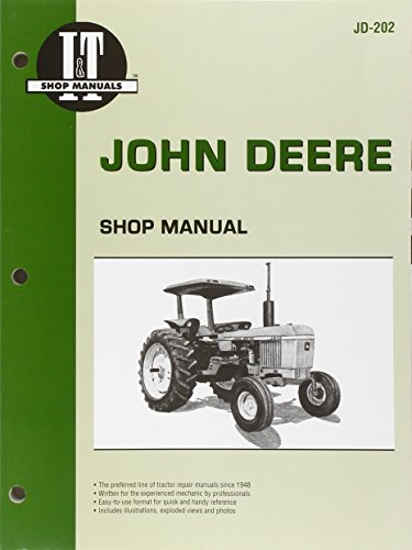 9780872883666: John Deere Shop Manual Jd-202 Models: 2510, 2520, 2040, 2240, 2440, 2640, 2840, 4040, 4240, 4440, 4640, 4840