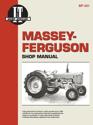 Massey Ferguson Shop Manual Mf-201 (I T: Penton