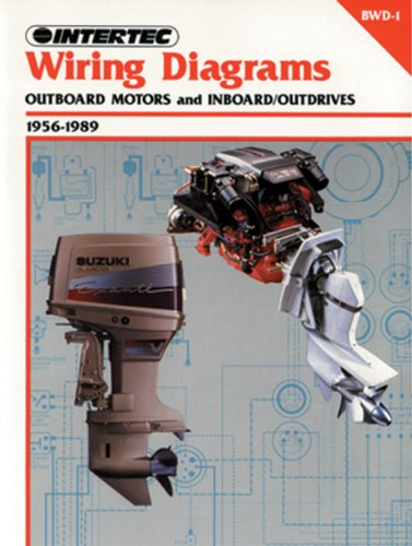 Wiring Diagrams 1956-1989: Outboard Motor and Inboard/Outdrive: Penton Staff