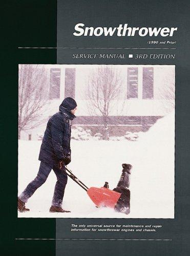 9780872884090: Snowthrower Service Ed 3