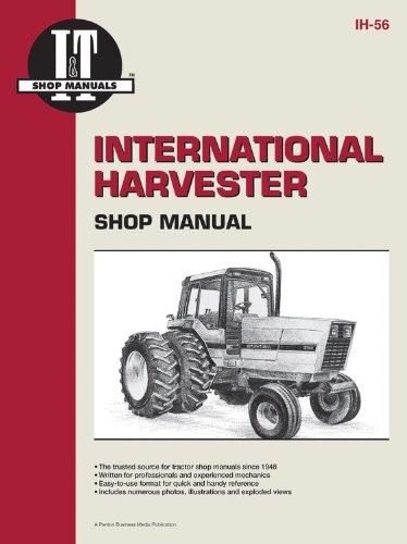 International Harvester Shop Manual Series 5088 5288 & 5488 (Ih-56): Penton Staff