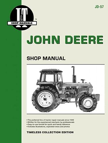 John Deere Shop Manual 4050 4250 4450 4650+ (Paperback): Penton