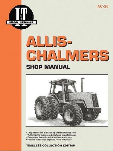 9780872884250: Allis-Chalmers Models8010 8030 8050 & 8070