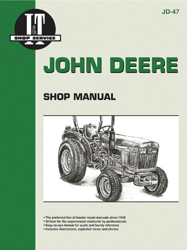 9780872884304: John Deere Shop Manual 850 950 & 1050 (Jd-47)