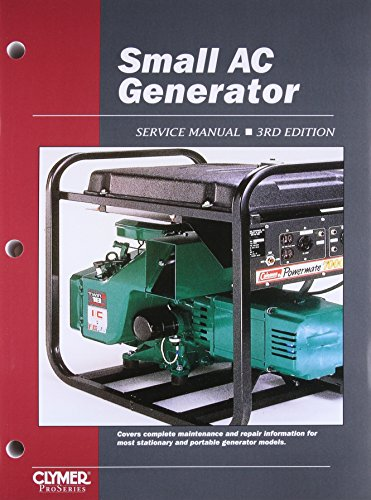9780872884670: Small AC Generator Service Manual, 3rd Edition