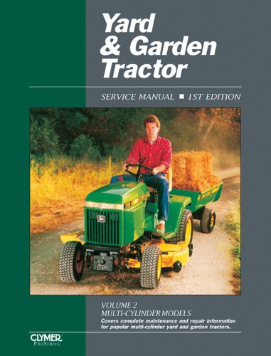 9780872884694: 002: Yard & Garden Tractor Service Manual: Multi-Cylinder Models
