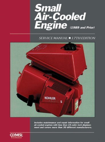 9780872884892: Small Engine Service Vol 1 Ed 17 (Small Air-Cooled Engine Service Manual)