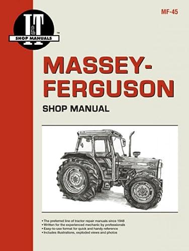 9780872885202: Massey Ferguson Shop Manual Models MF362 365 375 383 390+