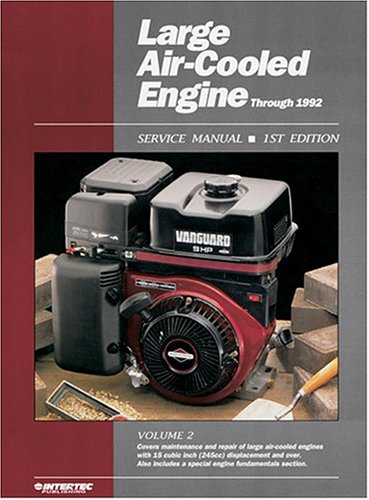 9780872885233: Large Air-Cooled Engine: Service Manual/Through 1992/Les 2-1