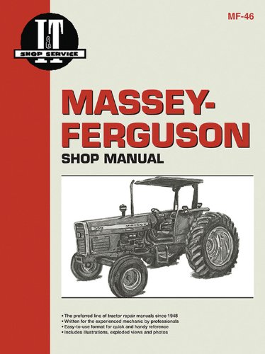 9780872885394: Massey Ferguson Shop Manual Models 340 350 355 360&399 (I & T Shop Service)