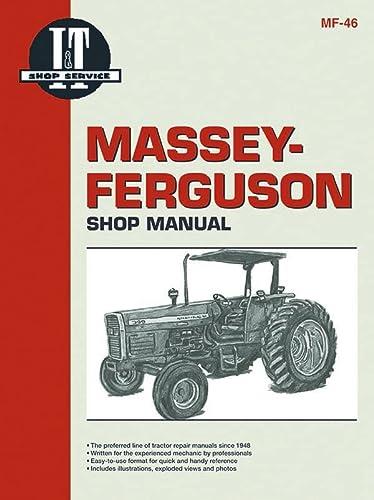 9780872885394: Massey Ferguson Shop Manual Models 340 350 355 360&399 (I & T Shop Service)
