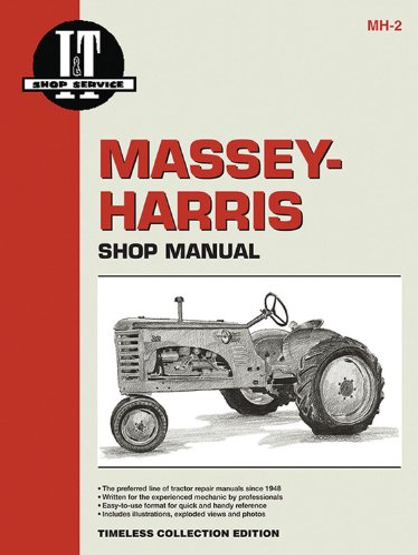 Massey Ferguson Shop Manual Models 20 22 30 44 55 81 82 Pony +: Penton Staff