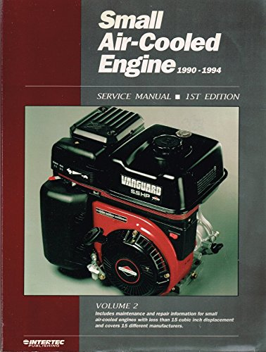 9780872885691: Small Air-Cooled Engine 1990-1994: Service Manual: 2 (18th ed)