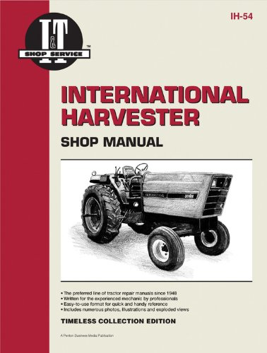 International Harvester Shop Manual Series 3088 3288 3488 Hydro +: Penton Staff