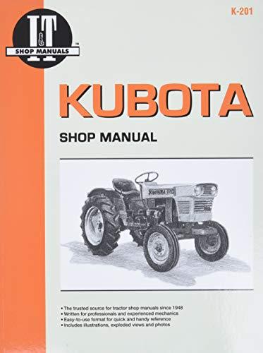 9780872886469: Kubota Shop Manual (I & T Shop Service Manuals)