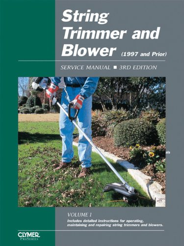 9780872886773: String Trimmer and Blower: Service Manual, 3rd Edition