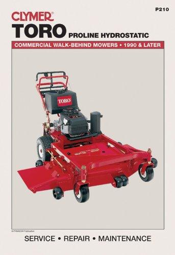 9780872889187: Toro Proline Hydrostatic: Commercial Walk-Behind Mowers, 1990 & Later (Lawn Mower)
