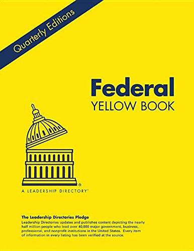 9780872890749: Federal Yellow Book Spring 2015: Who's Who in Federal Department and Agencies