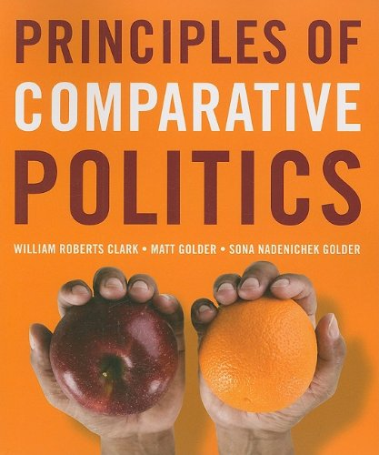 9780872892897: Principles of Comparative Politics