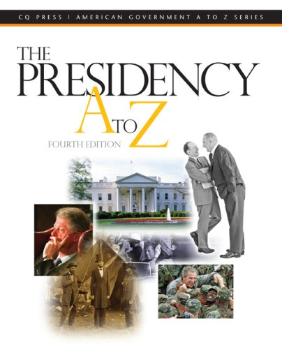 The Presidency A to Z: Gerhard Peters