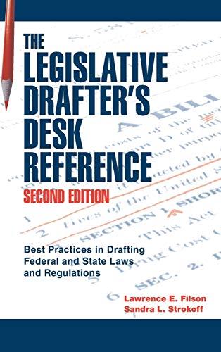 9780872894112: Legislative Drafter's Desk Reference, 2nd Ed