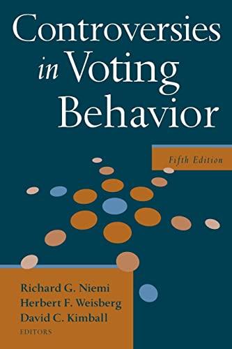 9780872894679: Controversies in Voting Behavior