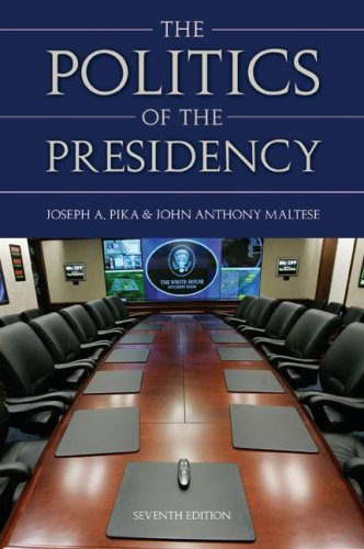 9780872894686: The Politics Of the Presidency, 7th Edition