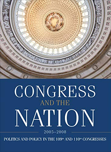 9780872894853: Congress and the National XII 2005-2008