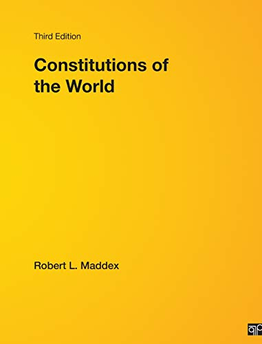 9780872895560: Constitutions Of the World, 3rd Edition