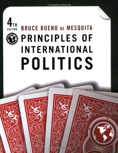 9780872895980: Principles of International Politics