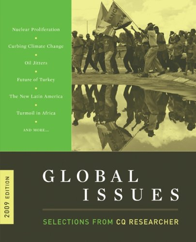 9780872896154: Global Issues: Selections From CQ Researcher, 2009 Edition