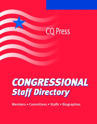 Congressional Staff Directory 2011: Summer (Paperback)