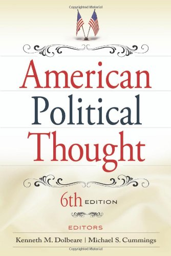 9780872899728: American Political Thought