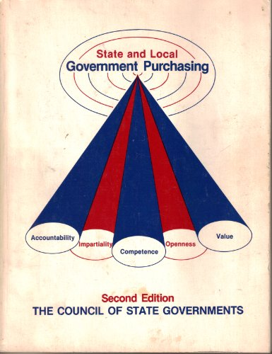 State and local government purchasing: Council of State Governments