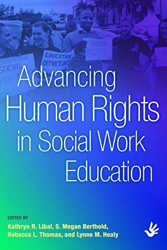 9780872931732: Advancing Human Rights in Social Work Education
