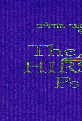 The Hirsch Psalms: Rabbi Samson Raphael