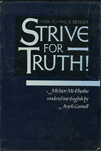9780873061391: Strive for Truth: Part 1