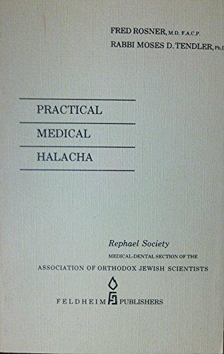 9780873062213: Practical medical halacha