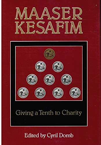 9780873062381: Maaser Kesafim: Giving a Tenth to Charity