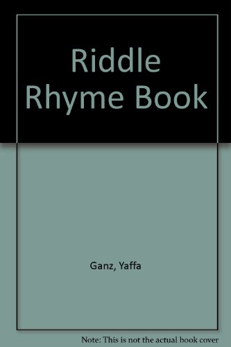9780873062596: Riddle Rhyme Book