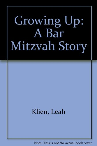 Growing up : A Bar Mitzvah Story: Rosoff, David