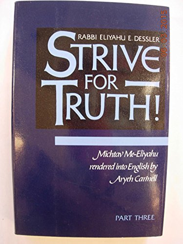 9780873065207: Strive for Truth Part Three