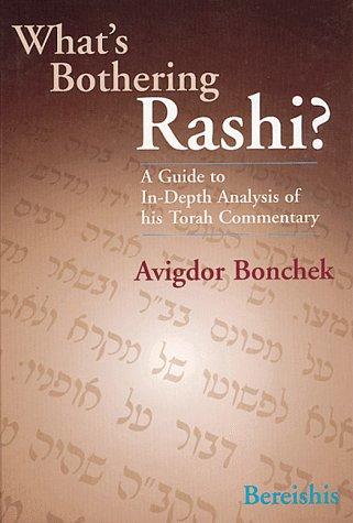9780873068499: What's Bothering Rashi? - Bereishis (What's Bothering Rashi Series)