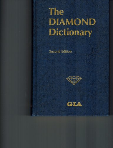 9780873110082: The Diamond Dictionary